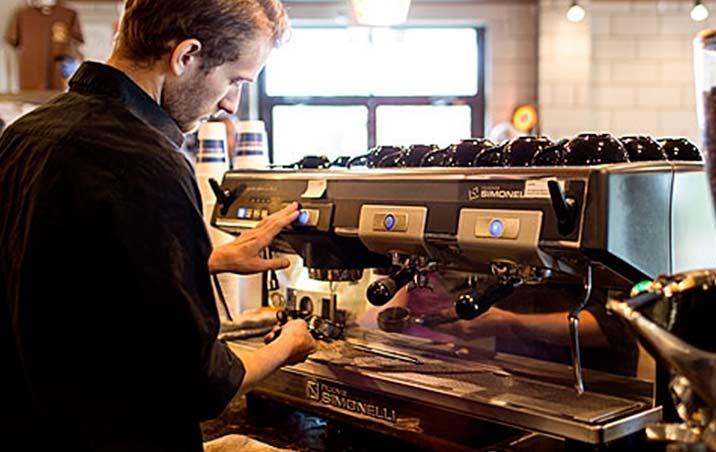 "Named ""Top Twelve Coffee Shop"" by Men's Journal"
